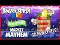 Angry Birds Rio - Market Mayhem All Levels Three Star Walkthrough