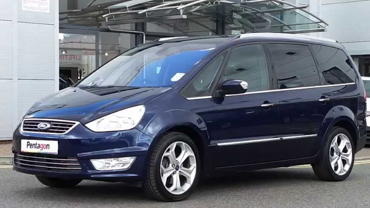 2013 62 plate ford galaxy 2 0 tdci 140ps titanium mpv powershift in blue youtube. Black Bedroom Furniture Sets. Home Design Ideas