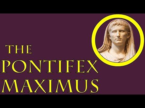 The Pontifex Maximus