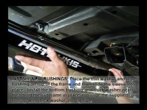 How To 70 74 Camaro Hotchkis Subframe Connectors