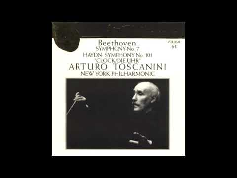 BEETHOVEN: Symphony No. 7 in A major op. 92 / Toscanini · New York Philharmonic