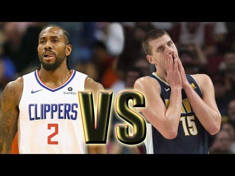 Los Angeles Clippers Vs Denver Nuggets Full Game! January 12 2020 NBA Season NBA 2K20