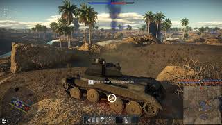 War Thunder - Tanking through the desert - Reupload