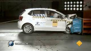 VW Polo with two  airbags scores four stars