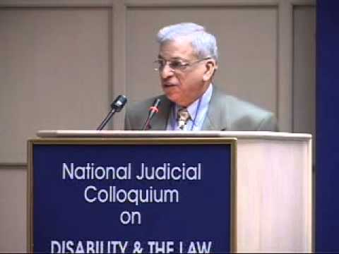 National Judicial Colloquium on Disability & Dalits & the Law 17-18 Dec 2005 Part 1