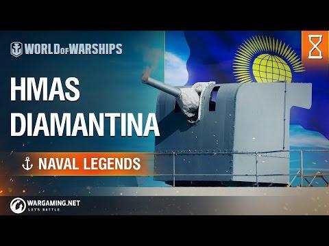 World of Warships - Naval Legends: HMAS Diamantina