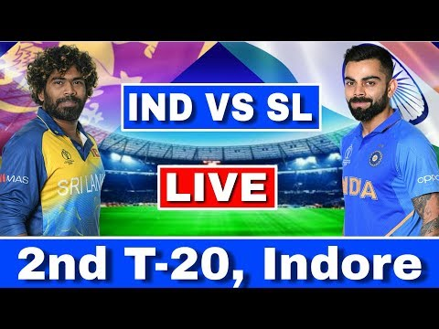 LIVE : India Vs Sri Lanka 2nd T20 | IND VS SL Today Match Live Streaming | Ind Vs Sl 2nd T20 Live