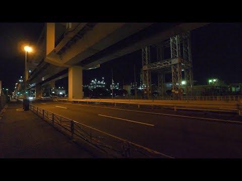 【4K】Walking in Industrial Kawasaki
