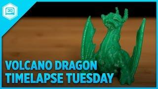 Volcano Dragon - Timelapse Tuesday