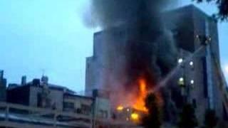 火事久留米通り町2007年7月7日未明 2