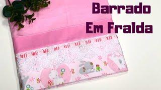 DIY Barrado em Fralda Fácil – DIY Baby Blanket