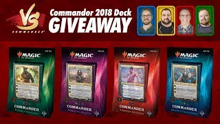 Commander VS S12E5: ??? vs ??? vs ??? vs ??? [EDH]