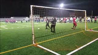 Yemen United soccer club Ramadan  tournaments.  playoff  San'a VS Dahlia playoff.