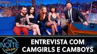 Entrevista com camgirls e camboys | The Noite (08/10/19)