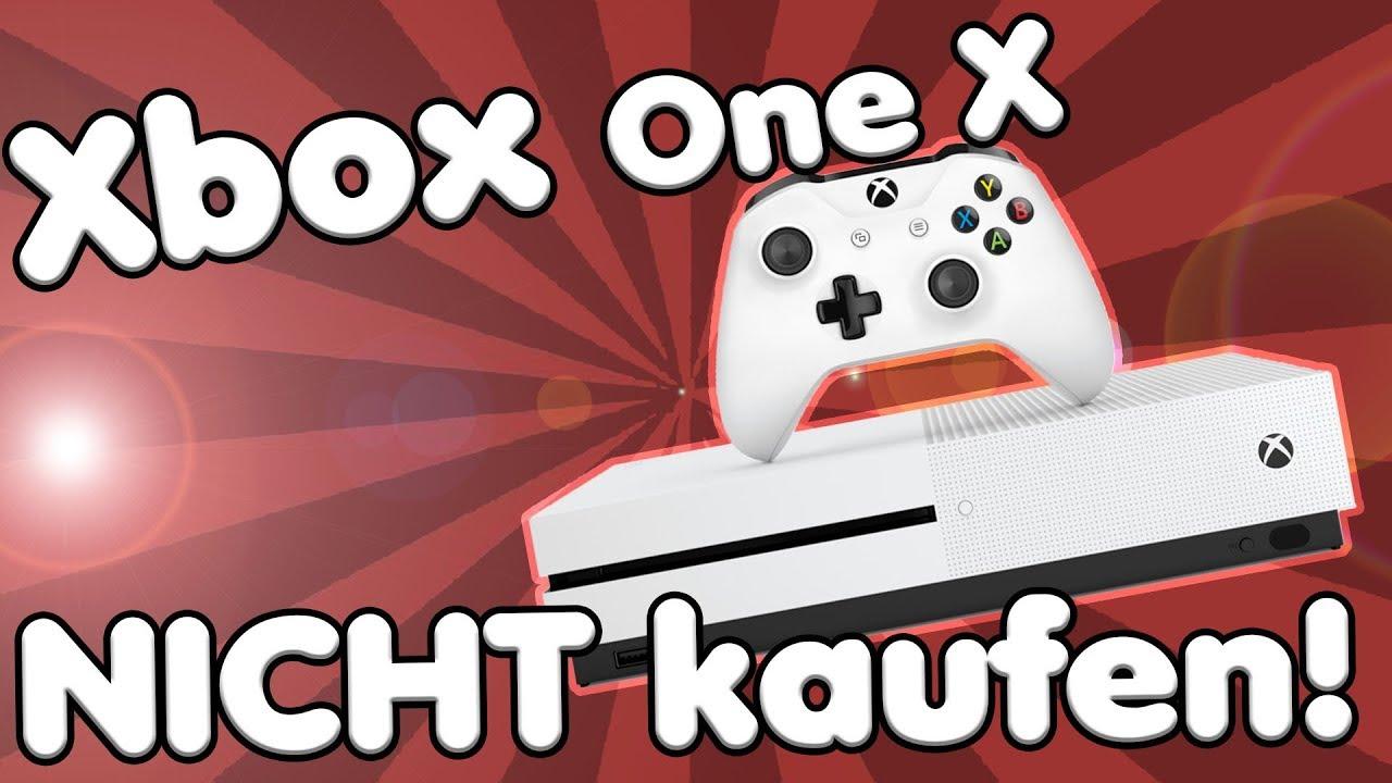 Sollte Man Keine Xbox One X Kaufen Lohnt Sich Ein Gaming Pc Mehr