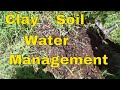 clay soil water management