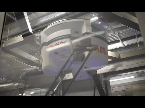 High speed robotic pick & place further automate Welsh baker