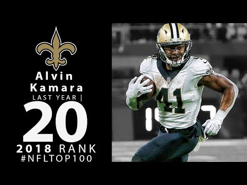 #20: Alvin Kamara (RB, Saints) | Top 100 Players of 2018 | NFL
