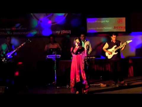 dile boro jala re panjabi wala by nandita in diu concert.