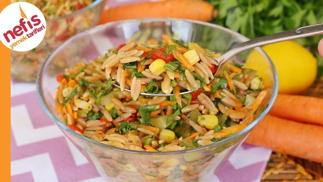 Arpa Şehriye Salatası Tarifi | Nasıl Yapılır?
