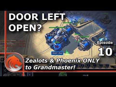 StarCraft 2: Mech Terran Vs MASS Zealots & Phoenix!