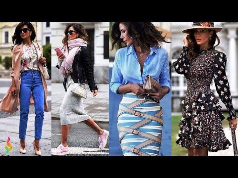 Стильные Casual образы весна-лето 2018 💎 Модный кэжуал лук в одежде для женщин фото Casual Look