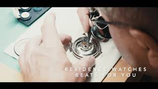 residence watches - beats since 1955