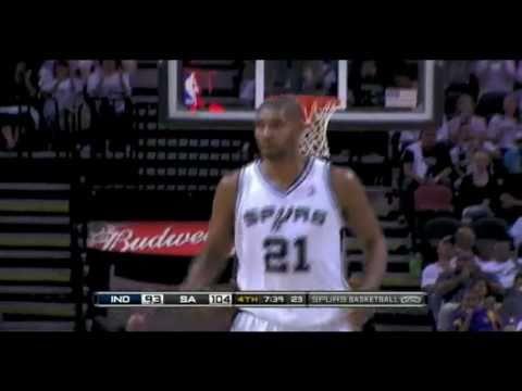 Pacers vs Spurs 2010 NBA Season 10/27/2010