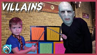 Harry Potter Villain!! Voldemort In Real Life   Thumbs Up Family