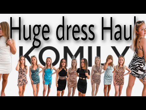 Huge Komily Bodycon summer dress Haul! | affordable summer fits | AD ▶13:31