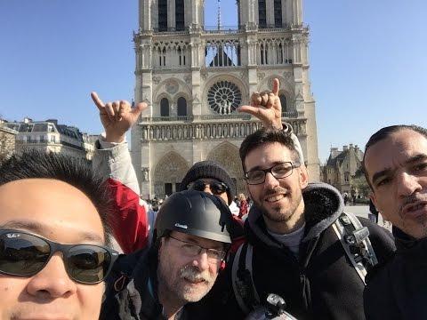 Electric Unicycle - Sun+Paris = Let's Ride!