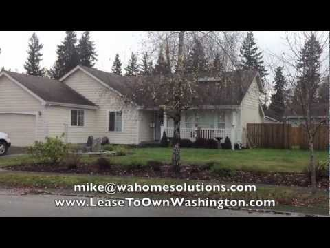 Rent to OWN This 3-Bedroom Olympia Home - Credit Dings, Self-Employment OK!