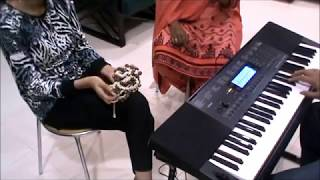 Sukh Ke Sab Saathi Dukh Mein Na Koi - INSTRUMENTAL COVER LIVE - Best Bollywood Bhajan - How To