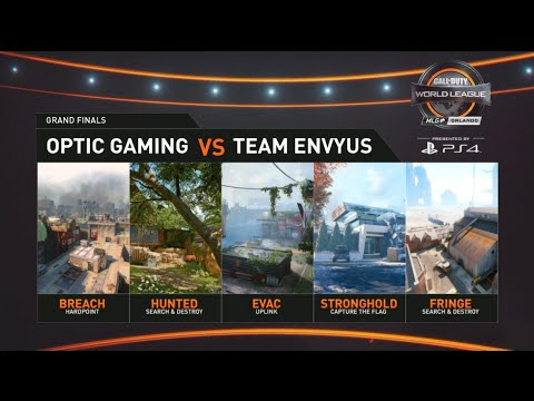 OpTic Gaming Vs EnVyUs Grand Final Match 1 | MLG Orlando Open 2016 Day 3