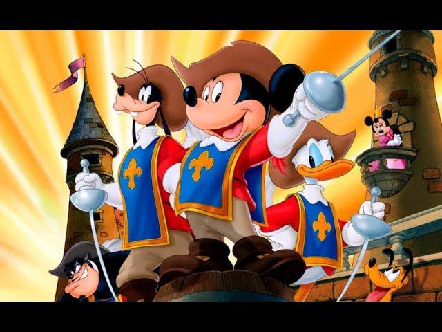 Mickey, Donald y Goofy en Los Tres Mosqueteros (Trailer español)