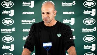 Robert Saleh Green & White Practice Press Conference (8/7) | New York Jets