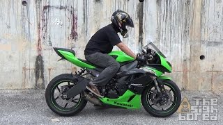 Kawasaki Ninja ZX-6R Graves titanium exhaust