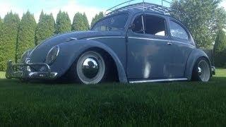 1959 VW Turbo Beetle test drive -- 300+ HP
