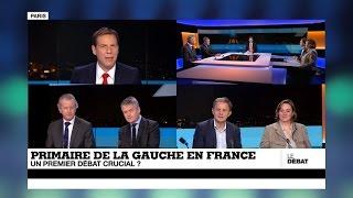 Primaire de la gauche en France: un premier débat crucial ? (partie 1)
