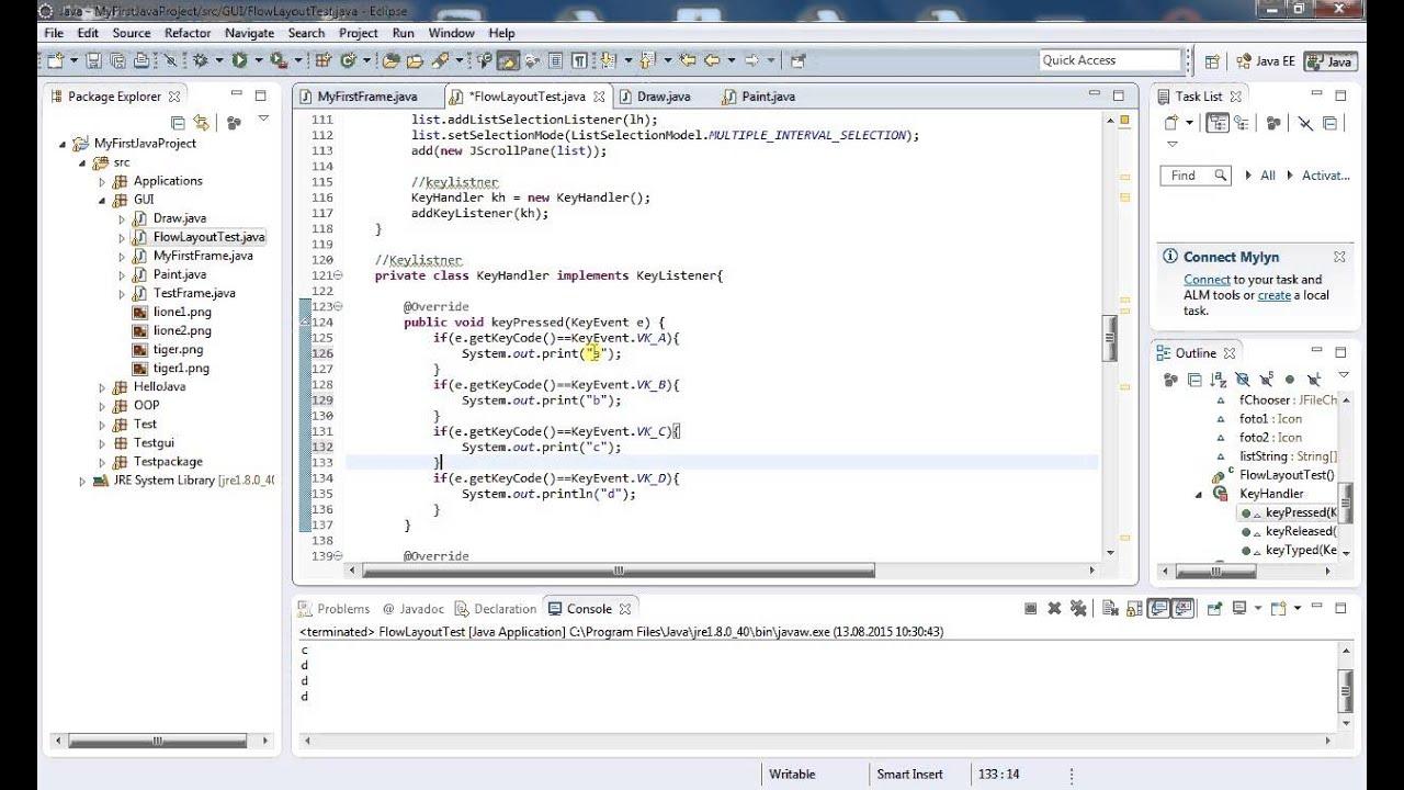 Java 85 keylistener youtube java 85 keylistener baditri Image collections