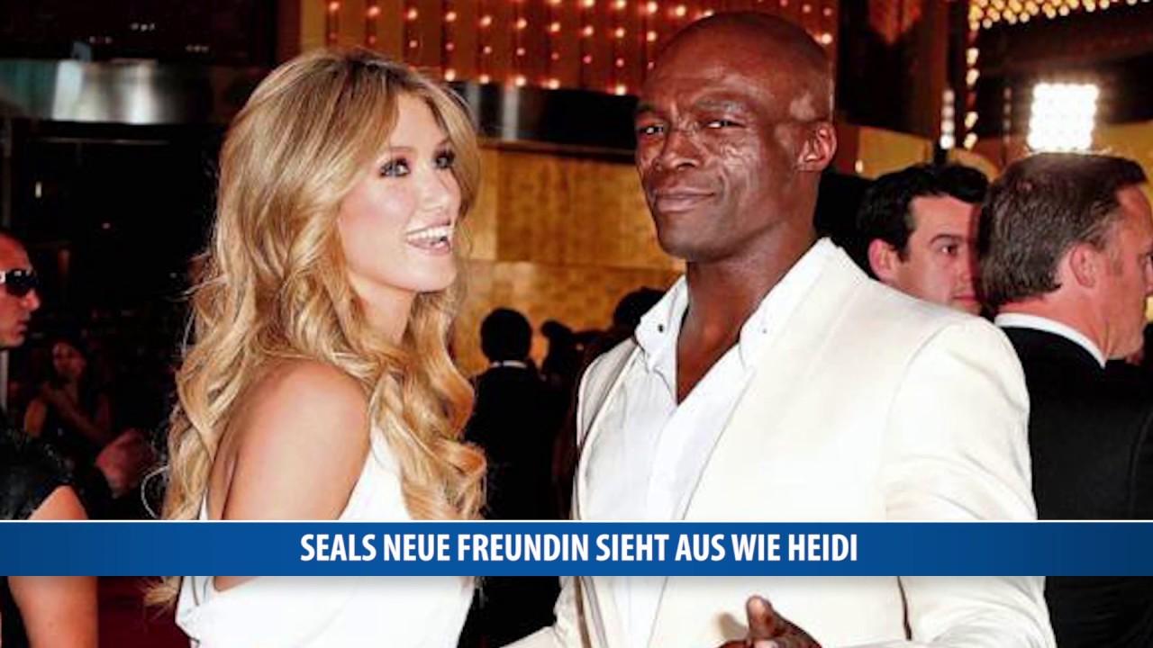 Seals neue Freundin sieht aus wie Heidi - YouTube