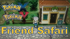 Pokemon X And Y - 3DS XL - Friend Safari Demonstration / Tutorial! (Friend codes in comments!)
