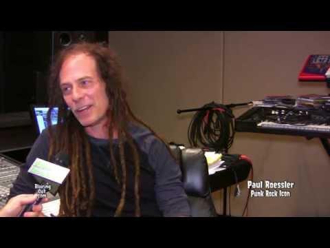 Punk Rock Icon Paul Roessler talks w Eric Blair 2014
