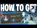 Destiny 2 - How to Get NEW Secret Bridge Troll Triumph - NEW MISSION SECRET BOSS - Broken Courier