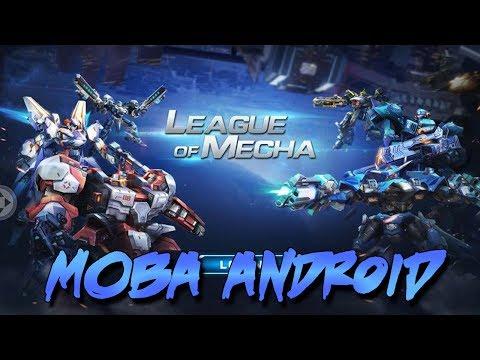Game MOBA Versi Robot Di Android - League Of Mecha Gameplay [ MOBA + TPS ]