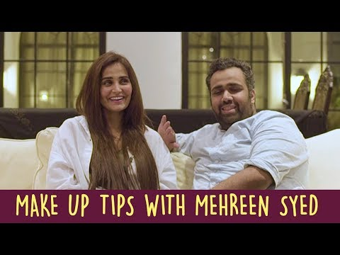 Make Up Tips With Mehreen Syed | ShowSha - YouTube