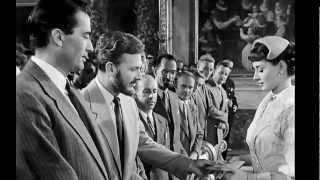 "Audrey Hepburn filmography,"" ROMAN HOLIDAY2 ""reconstruction MUSIC:..."