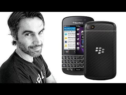 BlackBerry Q10, ERAN OTROS TIEMPOS | Retro review en español