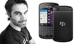 blackBerry Q10, ERAN OTROS TIEMPOS  Retro review en espaol