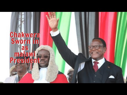 Lazarus Chakwera Declared Winner and Sworn in as Malawi Pres